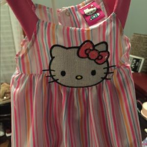 Hello Kitty 2pc set with matching Hat